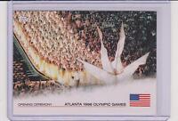 RARE 2012 TOPPS OLYMPIC OPENING CEREMONY CARD ATLANTA 1996 #OC-23
