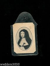 RELIC 3rd Class Marie Catherine de St.Augustin Tissue Touched to The Bones of St