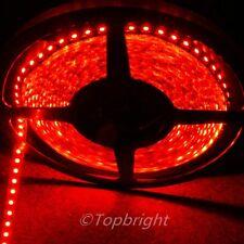 5X 5m 500CM Red 3528 SMD LED Flexible 600 LEDS Strip