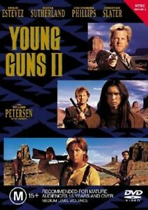 Young Guns II Part 2 DVD New and Sealed Australian Release