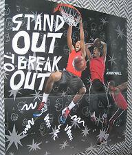 "Reebok John Wall Washington Wizards Poster 40"" x 42"" Zigs"