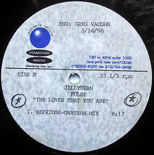 PULSE / JELLYBEAN The Lover That You Are REMIX FRANKFORD WAYNE Reference Acetate