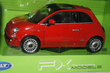 Fiat 500 rot 1:24 Welly neu + OVP 22514rt