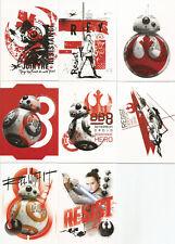 Star Wars Last Jedi Series 1 ~ MINI-MASTER SET (Base + 4 Insert Sets) 135 cards