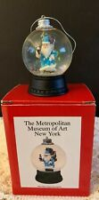 Christmas Santa Snowglobe Metropolitan Museum of Art New York Blued Robe Toys