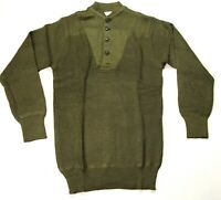 WWII US ARMY HIGH NECK WINTER SWEATER- SIZE 3 (42-44R) LARGE