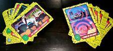 TEENAGE MUTANT NINJA TURTLES CARTOON  1989 CARD & STICKER SET 1-88 + 1-11 TMNT