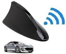Auto Car Shark Fin Universal Roof Antenna Radio FM/AM Decorate Aerial Black