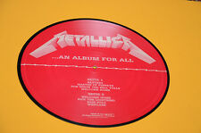 METALLICA LP PICTURE DISC AN ALBUM FOR ALL 1° ST ORIG UK EX