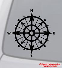 COMPAS Décalques vinyles autocollants VOITURE BATEAU mur fenêtre nautique voile