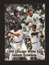 Chicago White Sox--Thomas--Ordonez--Durham--1999 Pocket Schedule--Coke
