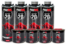 More details for toughox black by proxl 2k polyurethane structued coating 4l kit like raptor