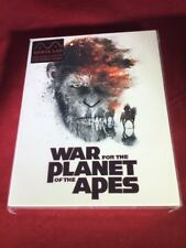 (Manta Lab) War for the Planet of the Apes STEELBOOK (FULL SLIP)(2D+4KUHD)