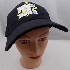 MONSTER DC SHOES STITCHED BLACK ADJUSTABLE BASEBALL HAT CAP PRE-OWNED ST08