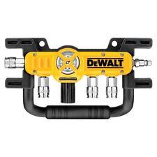 DEWALT Quadraport Air Line Splitter Compressor Pressure Regulator Couplers Tool