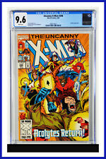 Uncanny X-Men #298 CGC Graded 9.6 Marvel March 1993 White Pages Comic Book