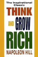 Think and Grow Rich Paperback Napoleon Hill Inspiration Carnegie Success NEW