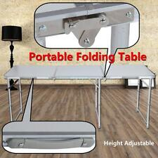 Portable Table Pliante de Camping Buffet Réception Aluminium 180CM Pique Nique
