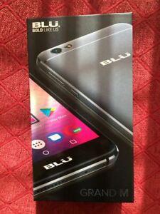 BLU Grand 5.5 HD 8GB Unlocked GSM Quad-Core Dual Sim Smartphone - Gray