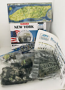 4D Puzzle The City of New York History Over Time 900 Pieces New & Sealed Bags
