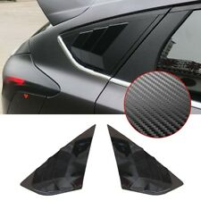 For Ford Focus St Rs Mk3 Hatchback Carbon fiber Abs Window Side Louvers Vent (Fits: Ford Focus)