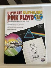 Ultimate play-along Pink Floyd guitar trax song book and cd