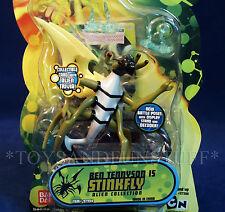 "NEW - STINKFLY - Ben 10 - 4"" Action Figure - BATTLE POSE VERSION - 2007 NEW"