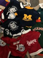 All Star Dogs Premium Collegiate & Pro Team Jersey Shirt dogs ~ NWT ~ choose