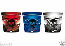 Racing SKULL QUAD HOOD VINYL POLARIS RANGER RZR 170 MINI VTT UTV WRAP 2009 2013