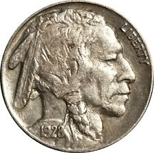 1928-P Buffalo Nickel, XF, Extremely Fine with Full Horn, Problem-Free Original