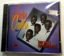 The JACKS Meet The CADETS CD Why Don't You Write Me? ACE Import DOO Wop KZ cd32