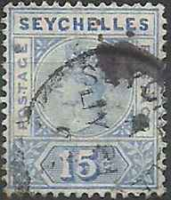 Timbre Seychelles 22 o lot 22632