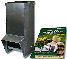 15kg Futterautomat für Geflügel, aus Metall --- @@@HEKA: 1x Art. 20651