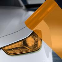 A4 Orange Car Headlight Fog Light Tint Film  FLP101