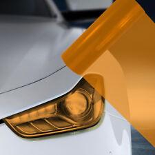 A4 Orange Car Headlight Fog Light Tint Film