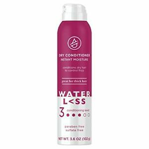 Waterl<ss Dry Conditioner, with Instant Moisture for Thick Dry Hair Paraben a...
