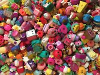 Shopkins Random Surprise Lot of 10- ALL EXCLUSIVES!! No Duplicates & Bag