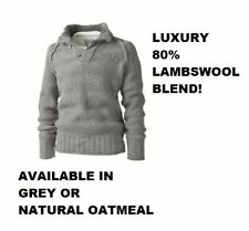 Lambswool Collared Jumpers for Men