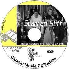 Scared Stiff - Dean Martin, Jerry Lewis, Lizabeth Scott Comedy DVD film 1953