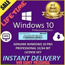 ✔️WINDOWS 10 PROFESSIONAL PRO KEY 32/64 ACTIVATION LICENSE PRODUCT ONLINE KEY✅