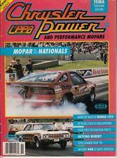 NOVEMBER 1990 CHRYSLER POWER MAGAZINE MOPAR NATIONALS, 440 SS DARTS