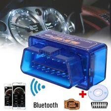 Mini ELM327 V2.1 OBD2 OBDII Bluetooth Adattatore Scanner Auto TORQUE ANDROID *@