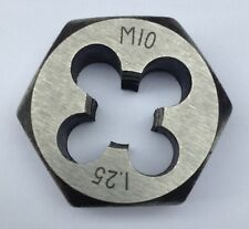 "1"" / 25mm Hexagonal Die Nut Metric M3 M4 M5 M6 M7 M8 M10 M12 0.75 1.0 1.25 1.5"