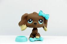 Authentic Littlest Pet Shop LPS Cocker Spaniel Dog #960 + Accessories Rare Toy