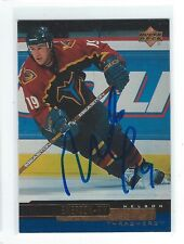 Nelson Emerson Signed 1999/00 Upper Deck Card #176