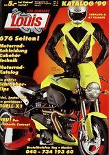 Louis Katalog 1999 676 S. Motorradzubehör Motorrad-Bekleidung Helme Teile parts