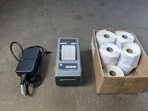Zebra ZD410 Compact Barcode Label Printer USED
