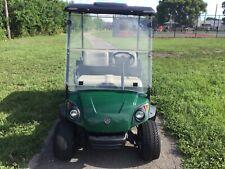2016 yamaha gas ADVENTURER TWO Utility golf Cart Industrial Burden Carrier green
