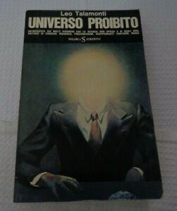 UNIVERSO PROIBITO DI LEO TALAMONTI EDIZIONI SUGARCO 1974