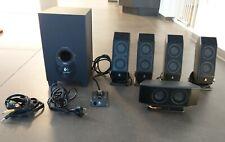 Logitech X-540 Lautsprecher-System | 5.1 Surround Sound Lautsprechersystem